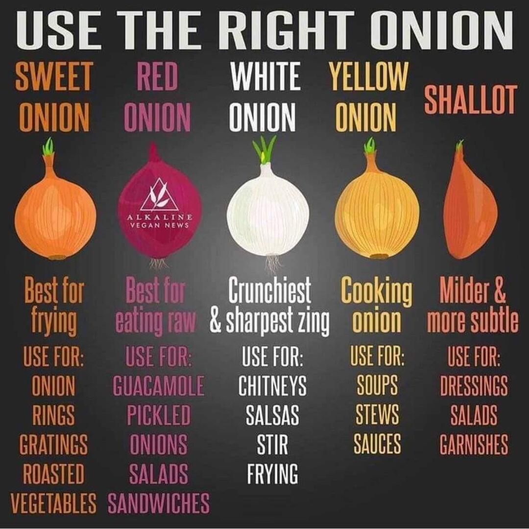 Onion usage